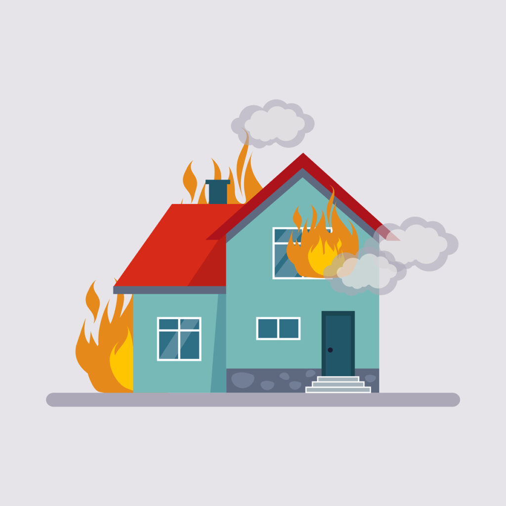 What to Do After a Housefire